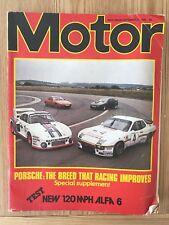 MOTOR MAGAZINE-13-9-80 inc ALFA 6 + AUDI COUPE + BMW