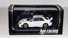 HPI Racing 945 1/43 Subaru Impreza WRC 2006 Plain Color White RARE