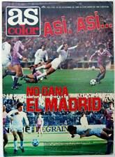 As Color Nº 502. Diciembre 1980. Así, así no gana el Madrid. Incluye póster