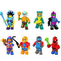 Spielzeug Cartoon He-man Masters Manaface DIY Figur Modell Kinder Geschenk 8PCS