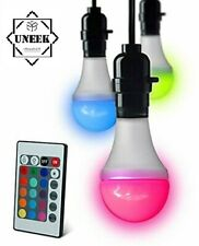 E27 LED LUMA BULB Colour Changing Screw 3.8W Dimmable Globe REMOTE PM921070 UK