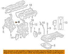 MERCEDES OEM 00-06 S500 5.0L-V8 Engine-Timing Cover Seal 1129970845