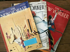 THE NEW YORKER magazine - 3 Issues: Aug 6, Aug 13, & Aug 20/27, 2001