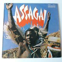 Assagai - Self Titled Vinyl LP UK 1970's Reissue Afrobeat NM