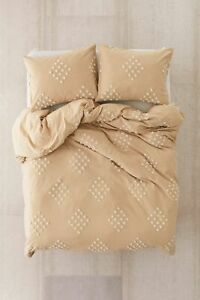 New Urban Outfitters Tufted Geo Duvet Cover King MSRP: $169