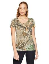 NWT Womens LARGE UA Threadborne Early Season Hunting SS Shirt Under Armour Camo