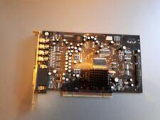 Sound Blaster X-fi PCI Audio Card Creative Labs Model SB0460