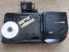 Mega CD 2, Multi Region Bios, New Laser, New Battery, Blue LED, and Sonic CD