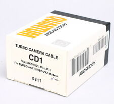 NEW -- QUANTUM TURBO 2X2 CAMERA FLASH CABLE -- CD1 -- FOR NIKON D1 D1X D1H