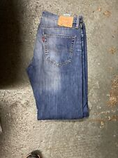 LEVIS 527  MID BLUE BOOT CUT VINTAGE JEANS W33 L30 Excellent Vintage Condition