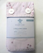 Simply Shabby Chic 2-Pack Standard Pillowcase Percale Floral Pink Ditsy
