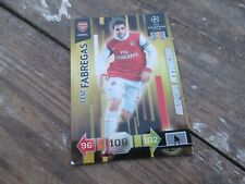 Panini Adrenalyn XL Champions League 2010-11 10-11 Cesc Fabregas Super Strikes