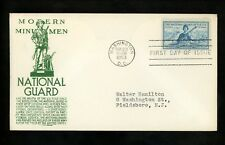 US FDC #1017 Anderson M-1 1953 Washington DC National Guard