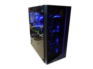 Jeux PC MSI X79 Matrex 55 blau Xeon E5-1620v2 Quad Core 16GB ram 480GB SSD W10