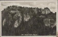 0105. AK Kurort OYBIN Ruinen. Görlitz, Bergwirtschaft Otto Hellmann, gel.1918