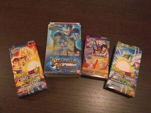 LOT 1x Pride Of the Saiyans Starter Deck, 2x Expansion Set,1x Premium Dragonball