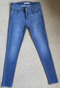Levis 711 Skinny Stretch Women's Jeans W27 L32 (D630)