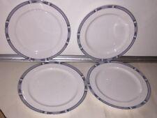 Lenox China Decor University Place Set Of 4 Salad  Plates
