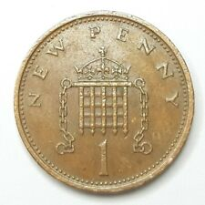 More details for 1971 1p new penny coin original old coin