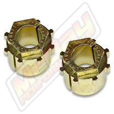Extreme Camber Caster Alignment Bushing Set Kit Pair 1980-1996 Ford F150 Bronco