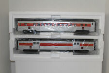 MTH #20-69214 New Haven  ABS 70'  Streamlined Baggage/Coach Passenger Set