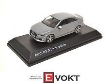 I-Scale Audi RS3 Sedan Nardo Grey 5011613131 Model Car 1:43 Genuine New