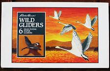 Eddie Bauer WILD BIRD PAPER Airplane GLIDERS Duck Snowy Owl MIB - Discontinued