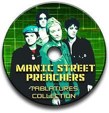 116 x MANIC STREET PREACHERS ROCK GUITAR TABS TABLATURE SONG BOOK SOFTWARE CD