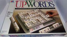 Upwords 3 Dimensional Word Game - 1988 Scrabble Tile 3D Game Complete