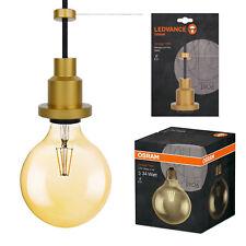 OSRAM Vintage 1906 LED Globe 21 Filament Gold warm White E27 Kugel 808980