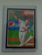 2011 Topps Heritage Minors Jordan Swagerty Black Border #/62 54/62 Cardinals