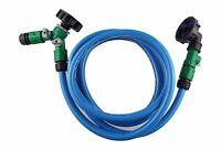"""IBC 1000L WATER TANK CONNECTOR KIT WITH VALVES 2"""" S60X6(JOINS 2 TANKS)"""