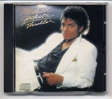 Michael Jackson CD Thriller - 1st press JAPAN-FOR-EUROPE CDEPC 85930 version D