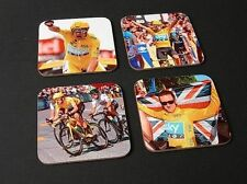 Bradley Wiggins Tour de France Winner 2012 COASTER Set