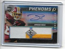 2013 Limited Jordan Reed RC Auto/3-Color Game Patch/49