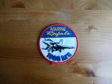 Patch Rafale Marine 1000 Heures Flotille Charles de Gaulle aviation écusson FS