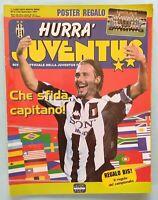 HURRA' JUVENTUS N. 9 DEL 1997 97 CONTE CAPITANO JUVENTUS