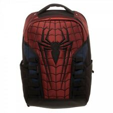 Spiderman Logo Web Backpack Marvel Comics Hero Peter Parker Laptop Bag BP54V9USM