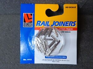 Code 100 Rail Joiners HO Scale (36) - Life-Like #433-1412 vmf121