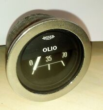 JAEGER Strumento MECCANICO pressione olio 1969 INNOCENTI MINI COOPER VINTAGE