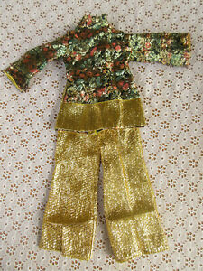 AFTERMARKET GOLD PANT SET FOR VINTAGE CRISSY KERRY IDEAL DOLLS
