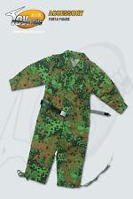 1:6 Scale WWII German Waffen SS Oak leaf Spring Pattern Jumpsuit #TCX014