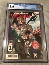 🔥Miles Morales Spider-Man #1 3rd Printing CGC 9.6 White Pages RARE 5/19 HOT🔥