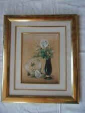 Cadre vintage en Bois Doré 34,5 x 40 cm