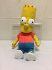 "VINTAGE Bart Simpson Stuffed Toy Vintage 18.5"" Tall: Tag Missing"