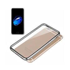 Fundas y carcasas transparentes Para iPhone 7 color principal gris para teléfonos móviles y PDAs