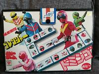 Toei Super Sentai Gorenger Dominoes Set Japanese Original Vintage 1970s Rare