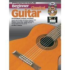 Progressive Beginner Classical Guitar - Teach Yourself How to Play Guitar CD DVD