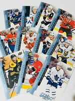 2018-19 UPPER DECK MVP NHL HOCKEY BASE SET 1-250 PICK WHAT U NEED