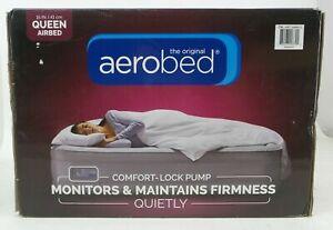 AeroBed Air Mattress with Comfort Lock Pump, Queen Size
